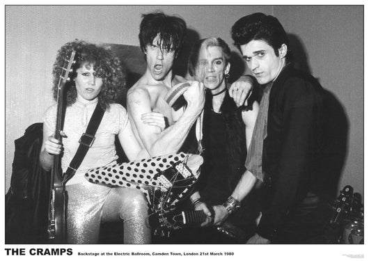 Cramps, The - Electric Ballroom EU Poster 24