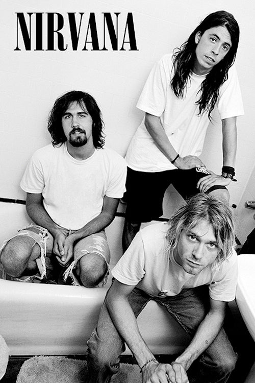 Nirvana - Bathtub Poster 24