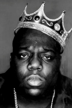 Notorious BIG - Crown Poster