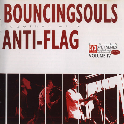 Anti-Flag / Bouncing Souls - BYO Split LP*