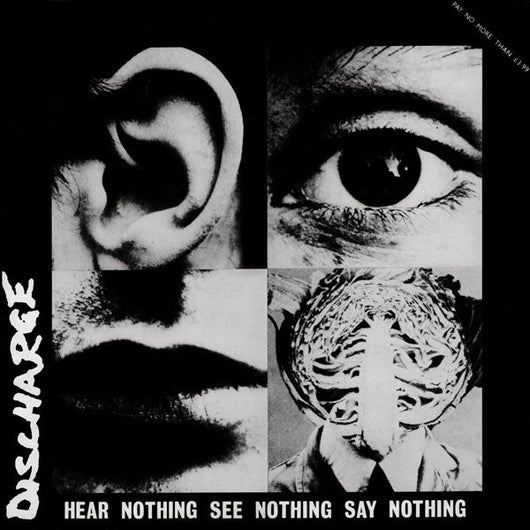 Discharge - Hear, See, Say Nothing LP*