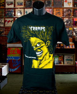 Cramps, The - Bad Music For Bad People T Shirt