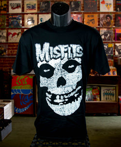 Misfits, The - Crimson Ghost T Shirt (Distressed Print)