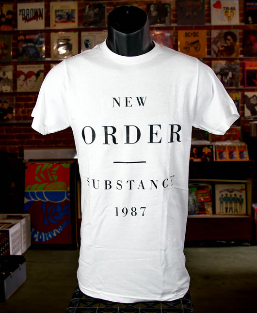 New Order - Substance White T Shirt