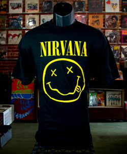 Nirvana - Smiley T Shirt