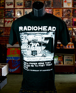 Radiohead - Monster Black T Shirt