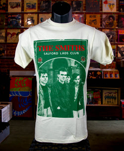 Smiths, The - Salford Lads Club T Shirt (Beige)