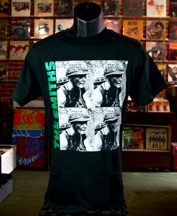 Smiths, The - Meat Is Murder Black T Shirt
