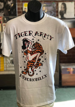 Tiger Army - Psychobilly T Shirt