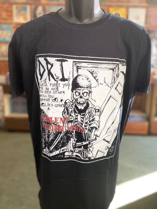 D.R.I. - Violent Pacification T Shirt
