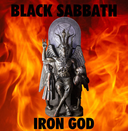 Black Sabbath - Iron God Live LP