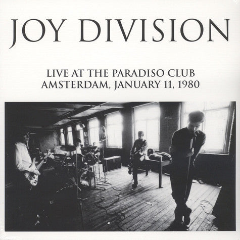 Joy Division - Live at the Paradiso Club LP*