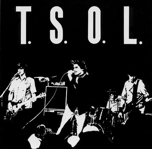 TSOL - S/T & Weathered Statues LP*
