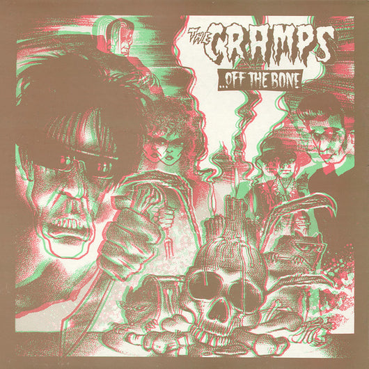Cramps, The - Off the Bone (Unofficial) LP*