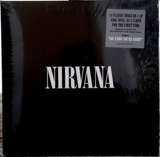 Nirvana - Self Titled LP*