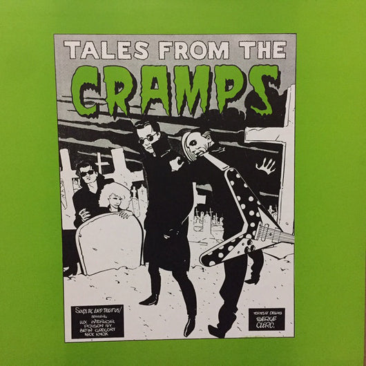 Cramps, The - Tales From The Cramps LP* (Unofficial)