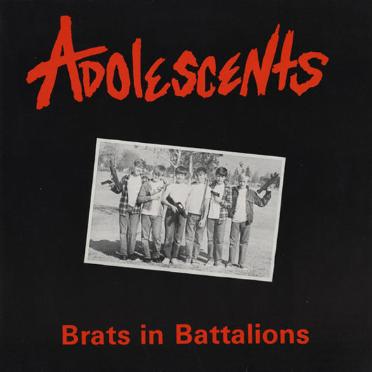 Adolescents - Brats In Battalions (LTD. White Vinyl) LP