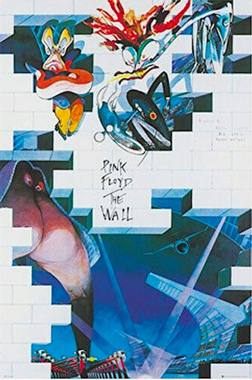 Pink Floyd - The Wall Film Poster