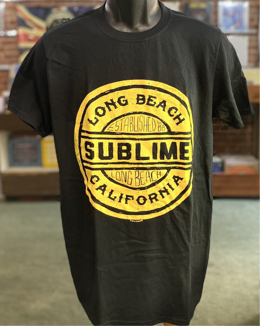 Sublime - Long Beach Logo T Shirt