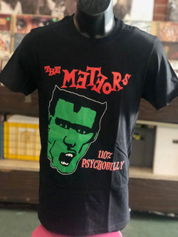 Meteors, The - 110% Psychobilly Black T Shirt