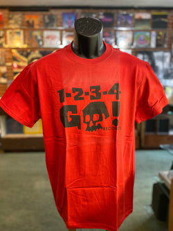 1234Go! - Red T Shirt