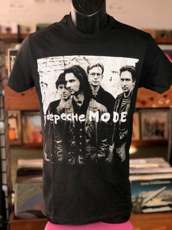 Depeche Mode - Beard & Glasses Black T Shirt