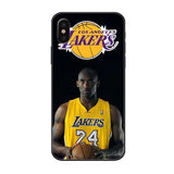 Commemorative Kobe Bryant Life Tempered Glass iPhone Case