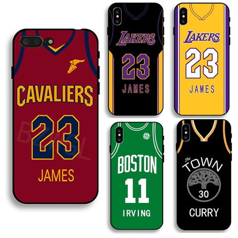 Jersey Number iPhone Cases