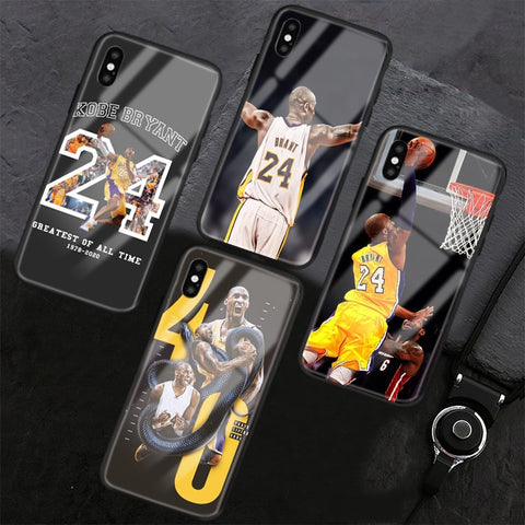 Mamba Mentality KB 24 Glass 3D iPhone Case