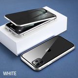 Magnetic 360 Glass Case For iPhone