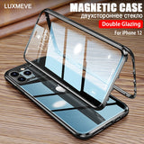 360 Magnetic Case For iPhone 12 11 Pro Max 12 ro Max 2020 Cover
