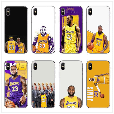 LBJ Laker iPhone Case