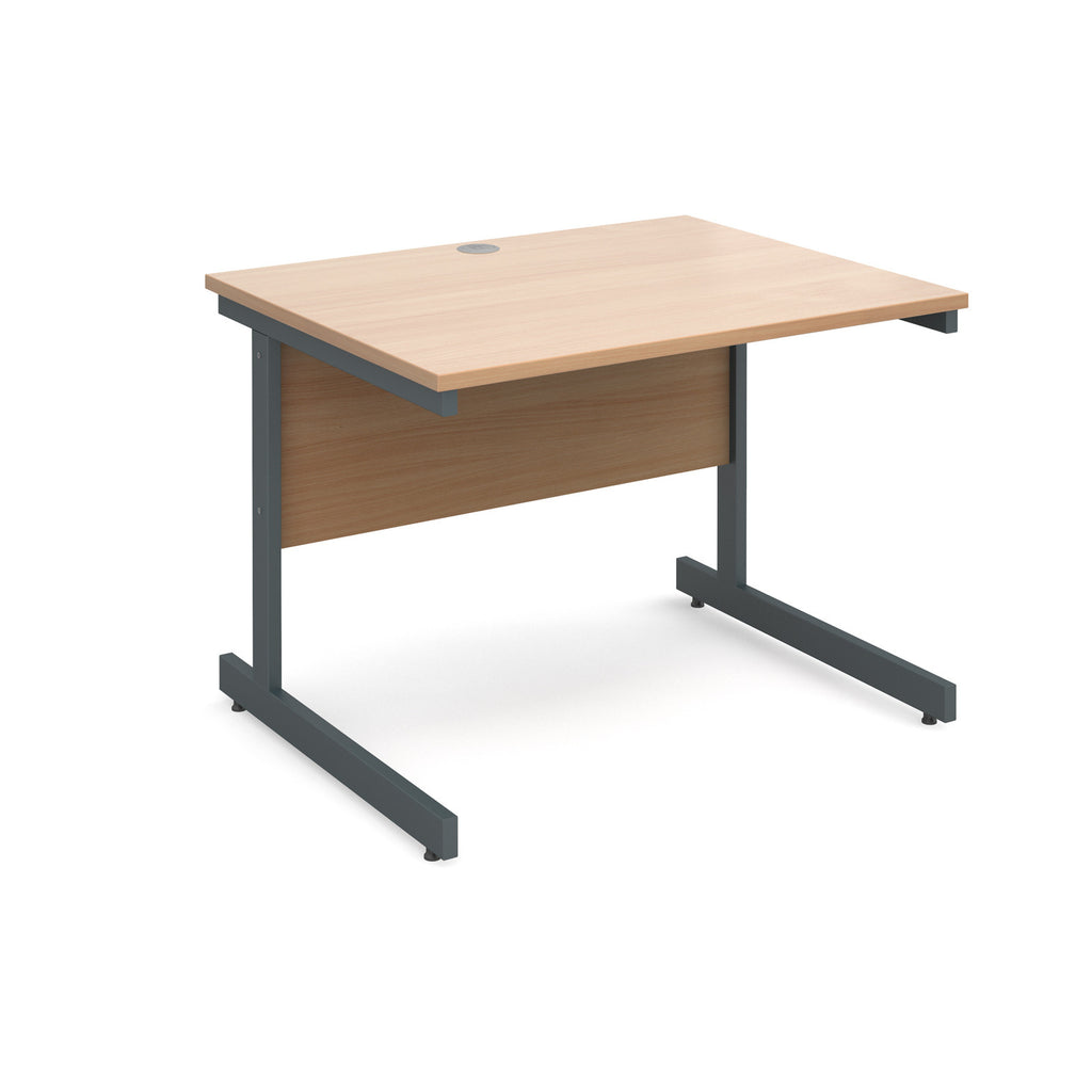 Contract 25 Straight Desk - Zilo Furniture