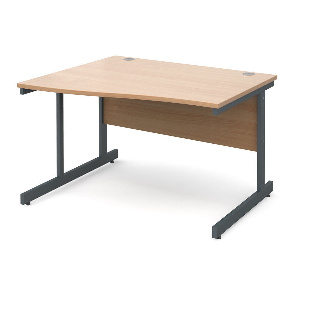 Contract 25 Wave Desk - Zilo Furniture
