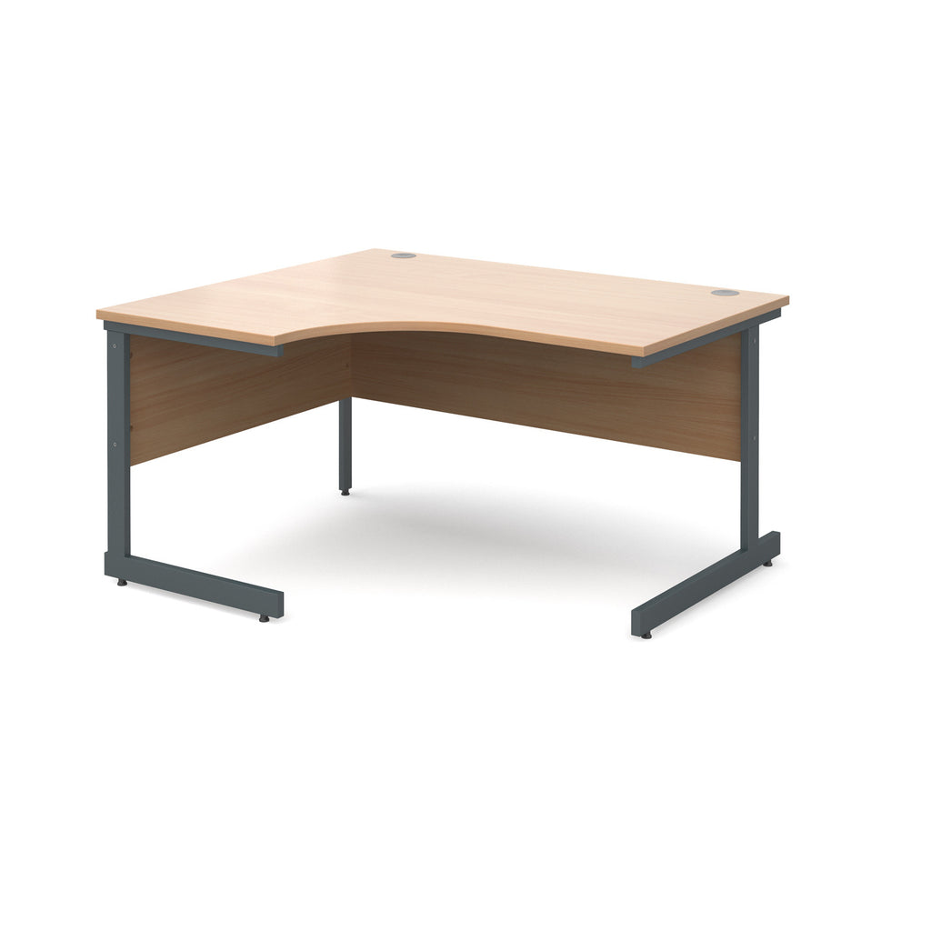 Contract 25 Ergonomic Desk - Zilo Furniture
