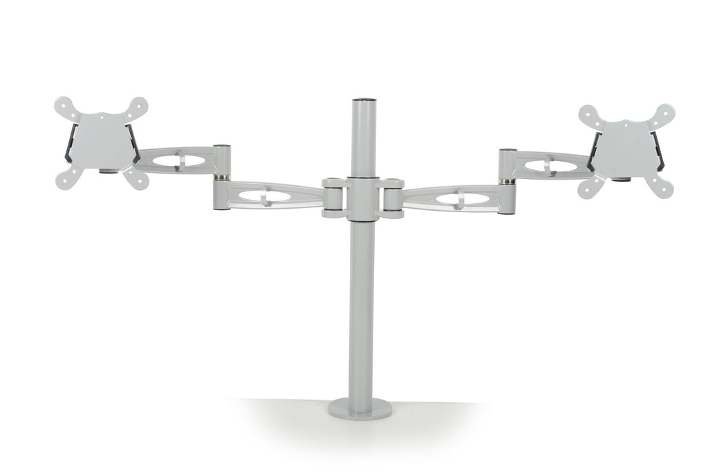 Twin Monitor Arms - Zilo Furniture
