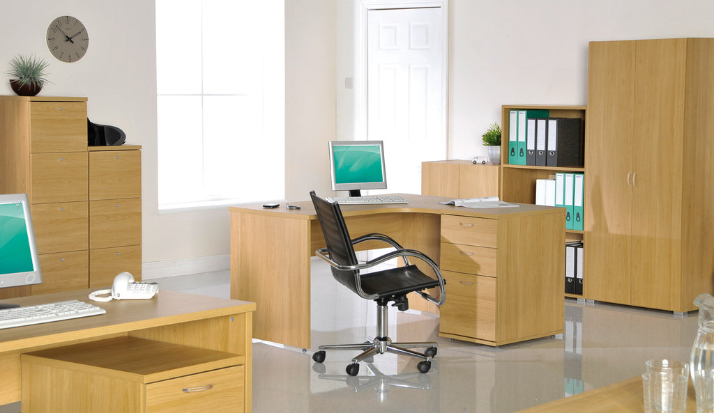 Urban Desk High Pedestal