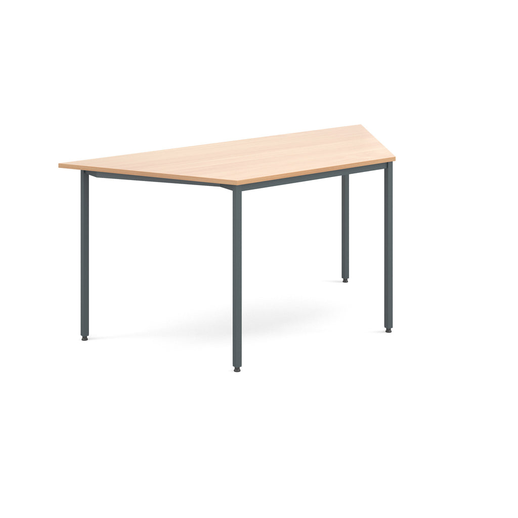 Flexi Table - Trapezoidal With Graphite Frame - Zilo Furniture