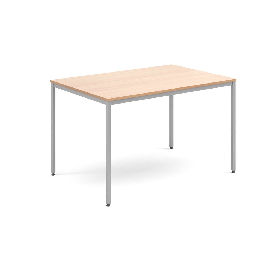 Flexi Table - Rectangular With Silver Frame - Zilo Furniture