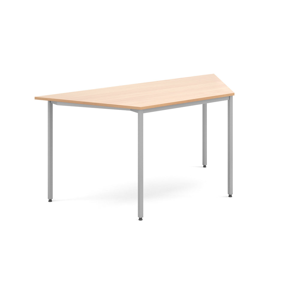 Flexi Table - Trapezoidal With Silver Frame - Zilo Furniture