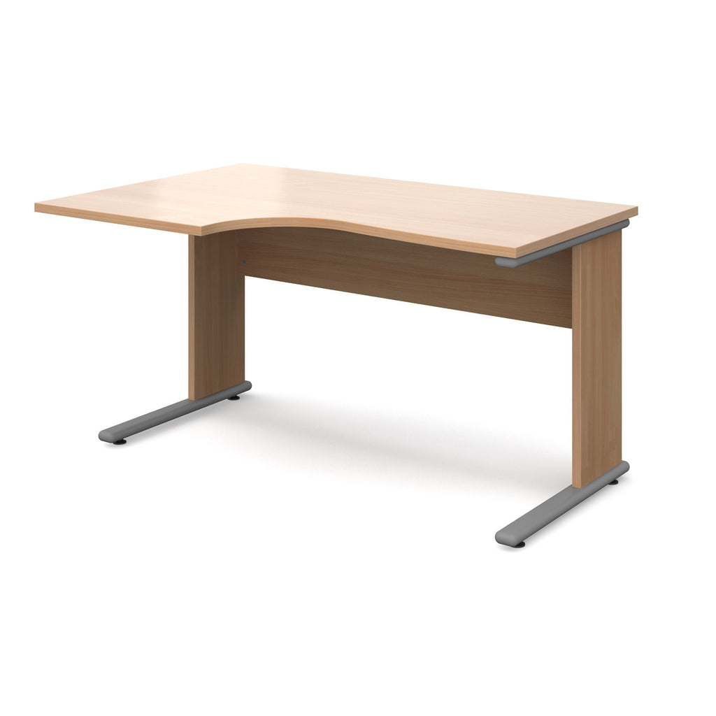Urban Left Hand Ergonomic Desk - Zilo Furniture