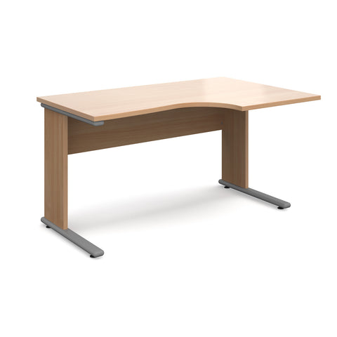 Urban Right Hand Ergonomic Desk - Zilo Furniture