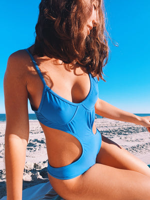 T-Bar One Piece  - orca blue