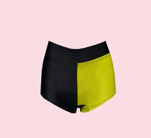 Block short - black/limonada