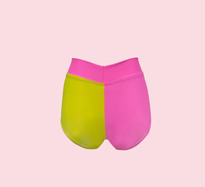 PINK POP X LIMONADA Block Short