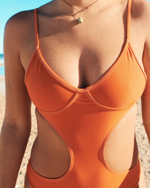 ALMOND T-Bar One Piece