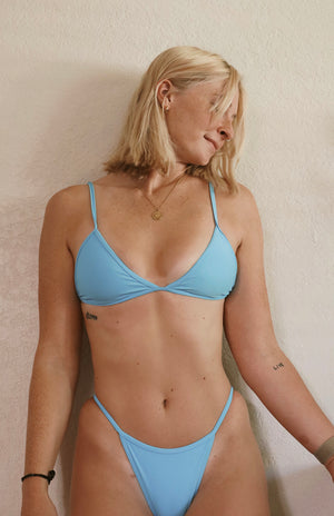 Tri bikini brief - cornflower blue