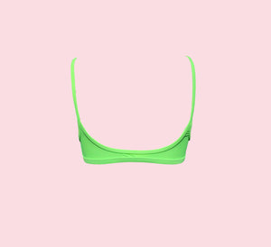 Teardrop Crop - lime