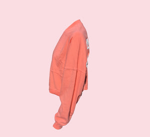 Peach T-Sweat