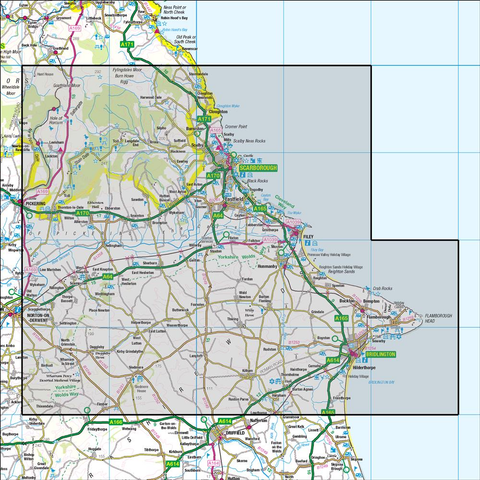 101  Scarborough Bridlington & Filey - Anquet Maps